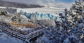 ¡Así es el invierno en el glaciar más famoso del mundo!