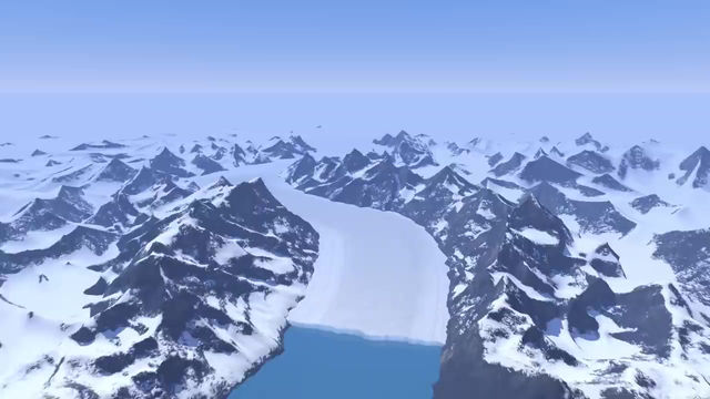 Así es como se produce el derretimiento de un Glaciar.