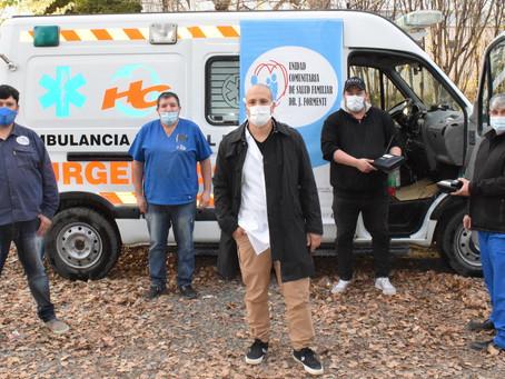 Tecnología CDMA para ambulancia de la Unidad Formenti