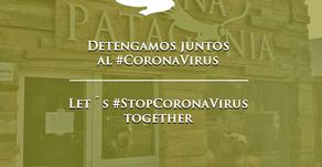 Detengamos Juntos al #CORONAVIRUS - Let´s #StopCoronaVirus together