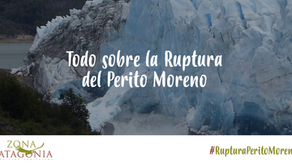 Finalmente, se derrumbó el puente de Hielo del Glaciar Perito Moreno.