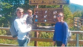 Todos quieren una postal junto al más increíble de los Glaciares: El #GlaciarPeritoMoreno