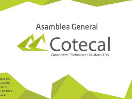 Convocatoria a Asamblea General Ordinaria 02 de octubre 2021