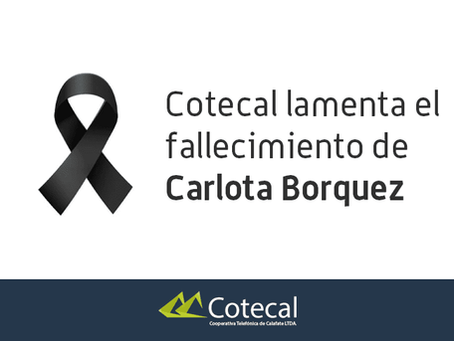 Hasta siempre Carlota!
