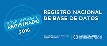 LOGO DE REGISTRO NACIONAL DE BASE DE DAT