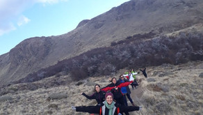 Trekking en invierno en Chaltén