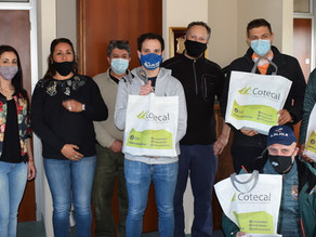 Cotecal se suma al Rally de Los Glaciares