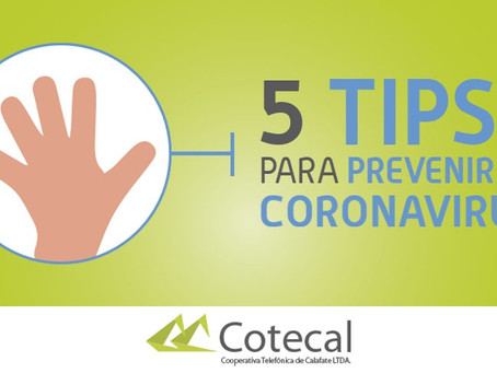 5 tips para que juntos detengamos la curva de contagio del #COVID19