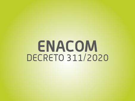 COMUNICADO: DNU 311/2020
