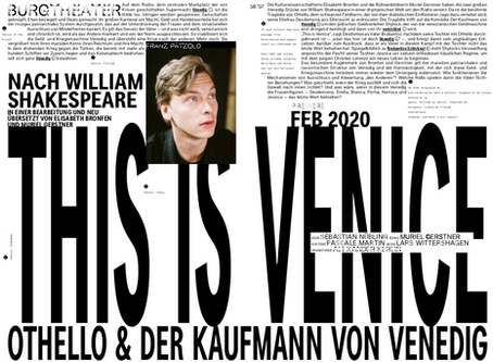 Event | This Is Venice: Production at Burgtheater