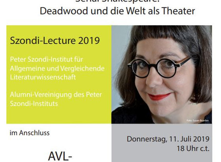 Lecture | Serial Shakespeare | 11.07.19