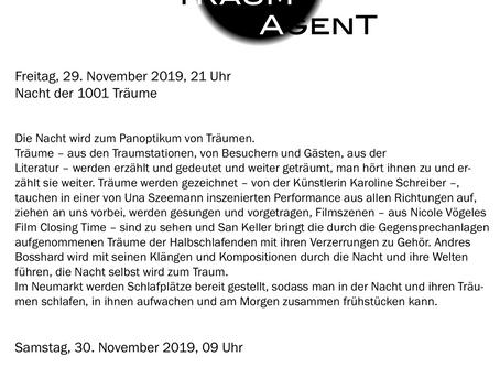 Talk | Dreams & Shakespeare | 30.11.19
