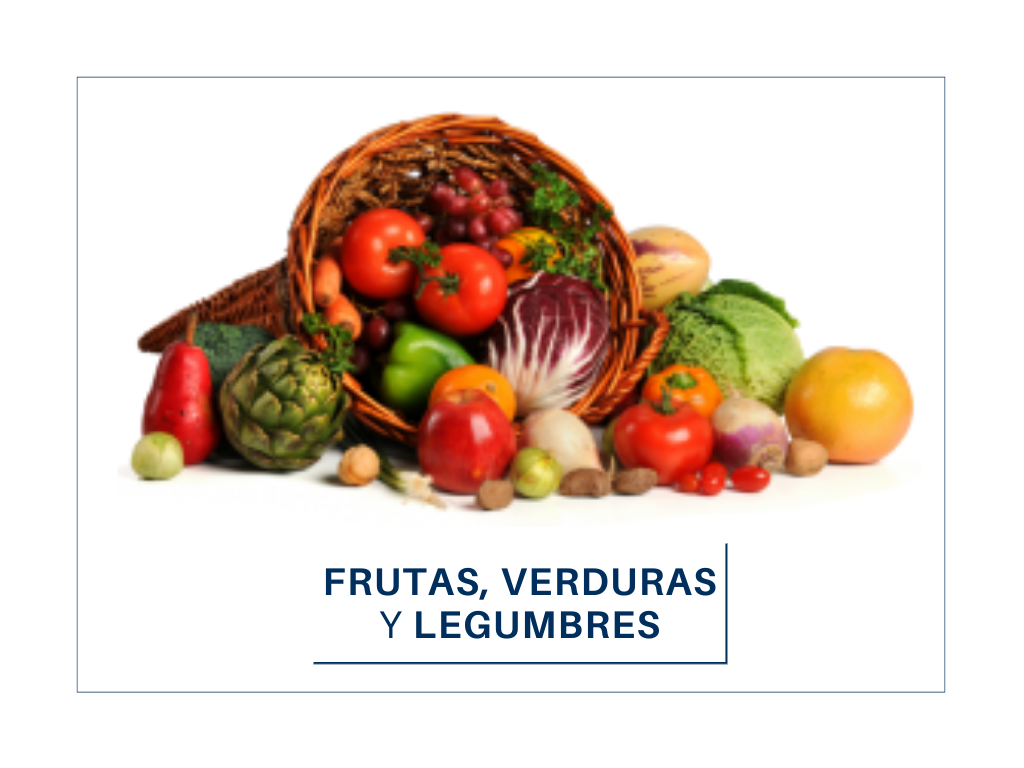 Frutas,verduras y legumbres