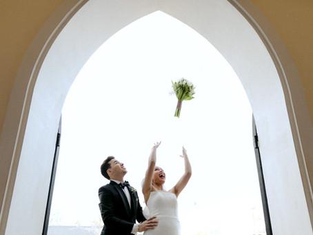 """ Nid + Saul "" wedding ceremony"