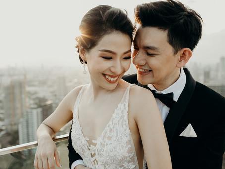 """"""" Petch + Jian Wei """" wedding ceremony"""