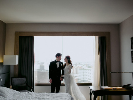 """ Aor + Big "" wedding ceremony"