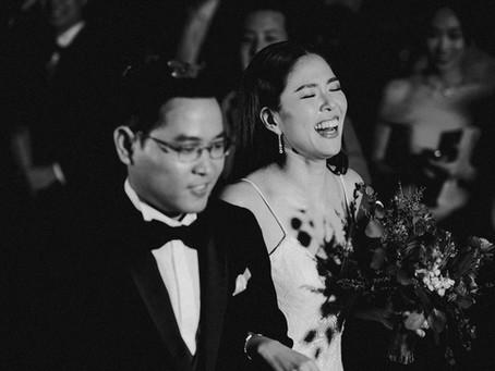 """ Yuki + Oh "" wedding reception"