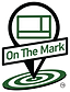 OTM On The Mark Logo 2020 white outline