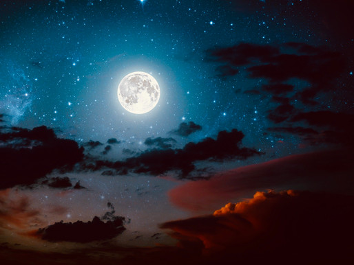 Halloween in the light~magic of the Full Moon