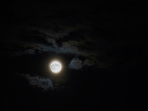 Supermoon ~ the possibility of the soul's rebirth