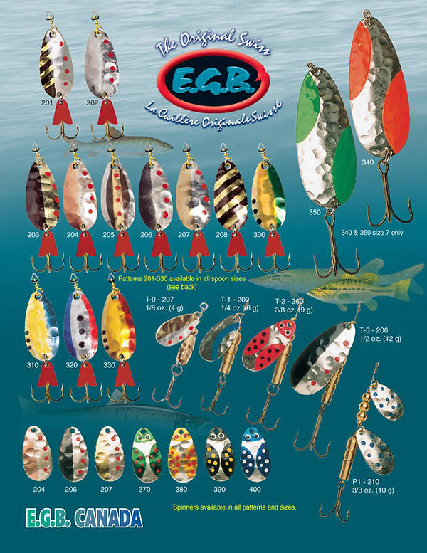 Brochure with traditional patterns - EGB
