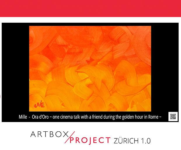 Ora d'Oro by Mille ABP 2019 Zürich