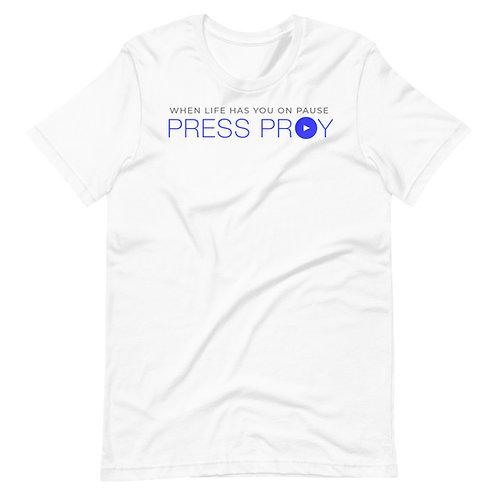 VLCM Short-Sleeve Press Pray Unisex T-Shirt