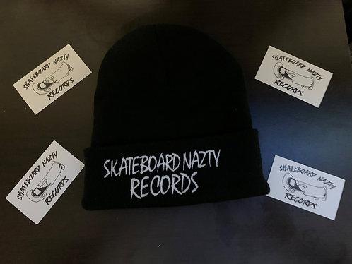 SkateBoardNazty Records Beanie