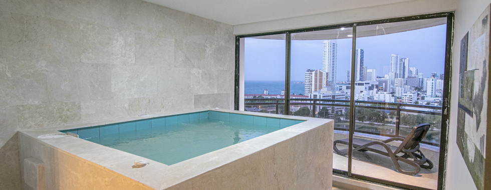 4 Bedroom Luxury Penthouse with Private Jacuzzi | Cartagena, Colombia | Cartagena Vacation Rentals