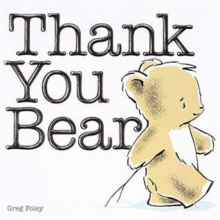 Booklights: Thank you Bear by Greg Foley