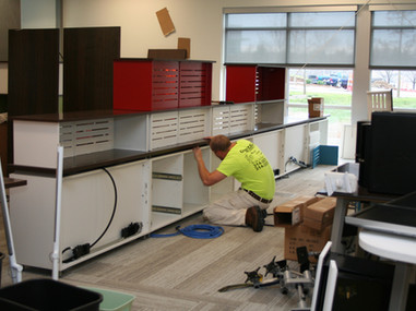 Additional Work Areas Installed