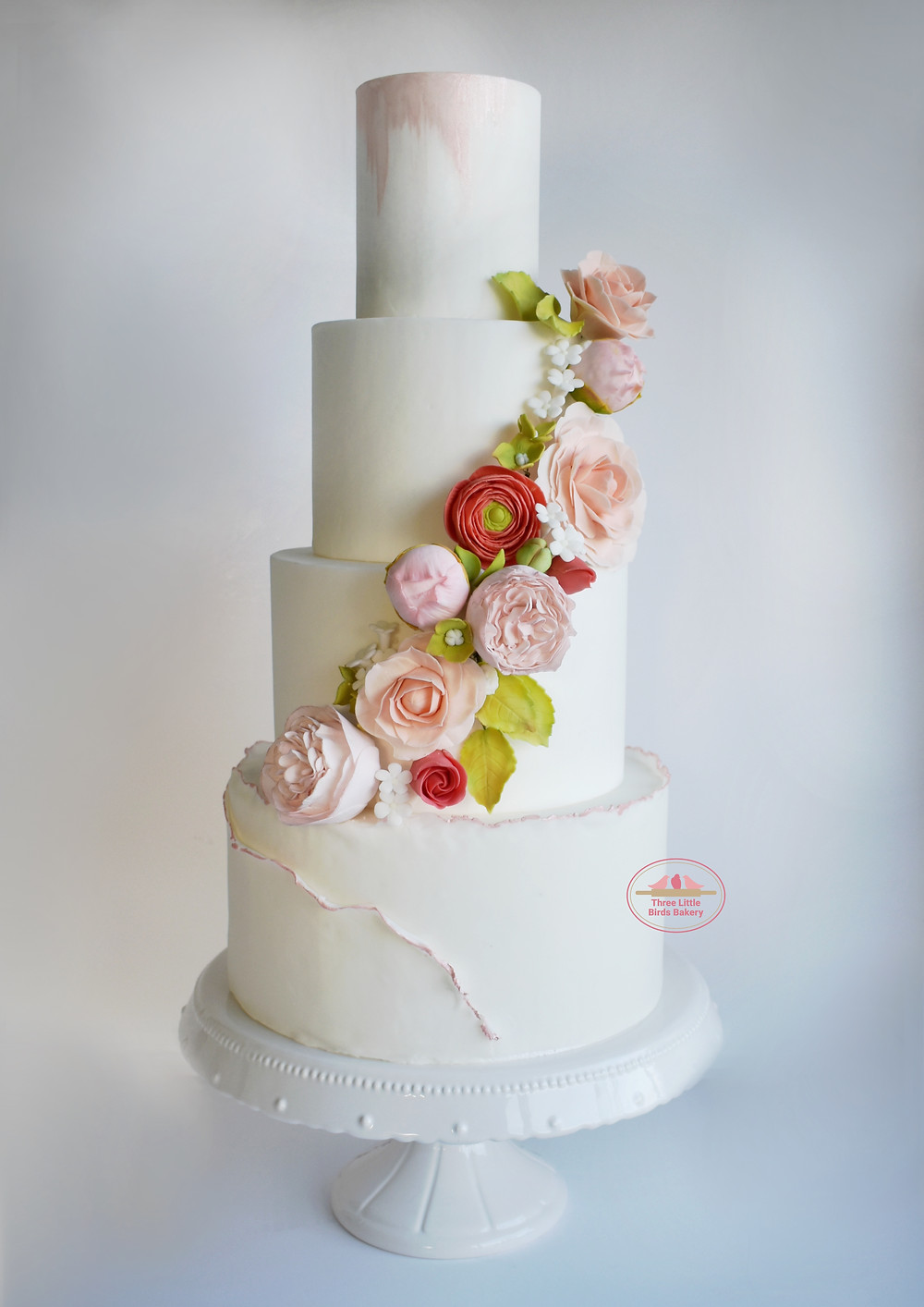 luxury wedding cake yorkshire