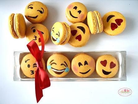 Emoji macarons in Keighley, Bingley, Bradford, Skipton, Ilkley & beyond