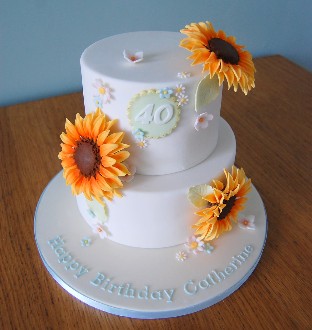 Yorkshire birthday cake in Keighley