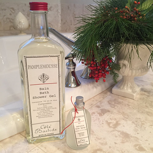 Cote Bastide Pamplemousse Bath Gel and Room Spray