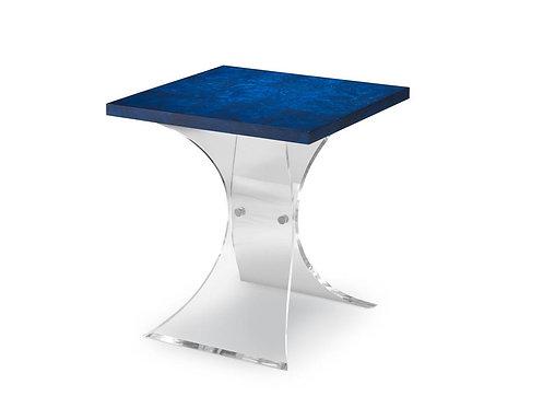 Bunching Table / Cobalt and Acrylic