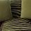 Thumbnail: Chartreuse Zebra Throw and Pillows