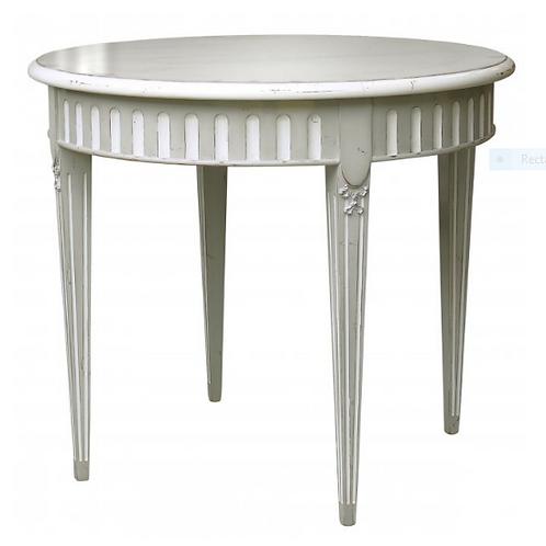 PARIS L.XVI Tea Table in Blanc
