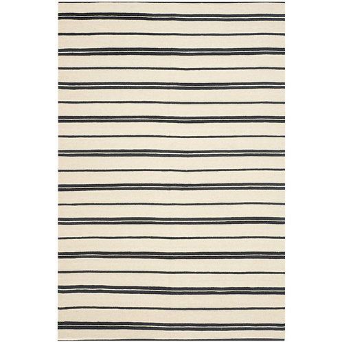 Ralph Lauren Sagaponeck Stripe Cinder 9 x 12