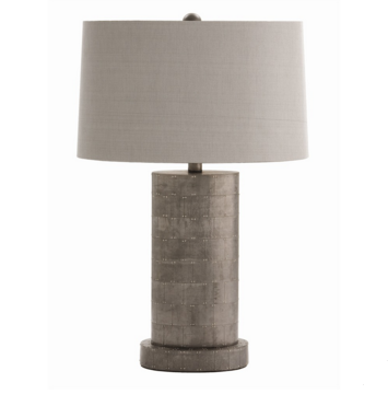 Zinc PatchworkTable Lamp