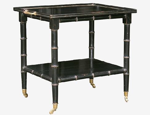 PARIS Table Bambou in Noir / Rectangular