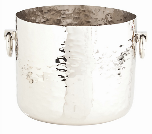 Polished Nickel Ice Bucket