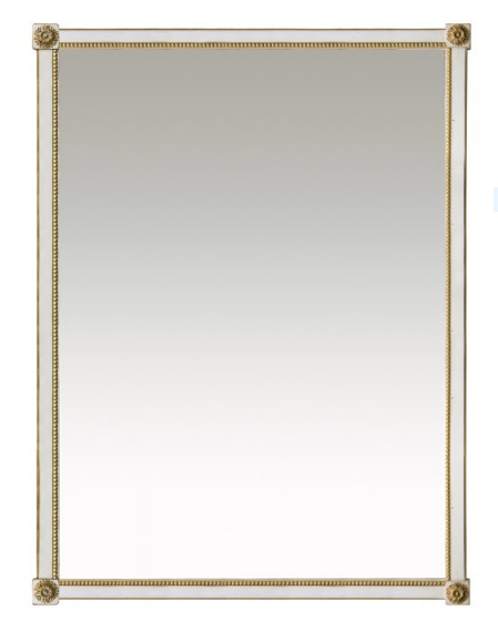 PARIS Miroir Louis XVI in Blanc