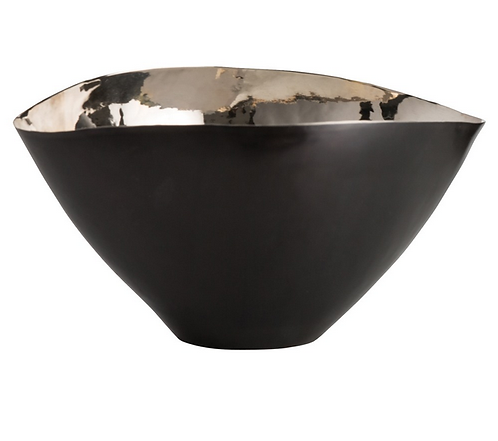 Bronze and Nickel Centerpiece Bowl Small