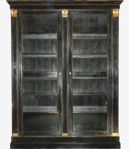 PARIS Bibliotheque Louis XVI in Noir