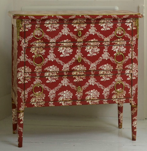 PARIS Commode Chevet L. XVI Gabriel Faure