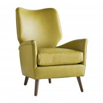 Citron Leather Chair