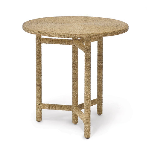 Seagrass Rope Side Table