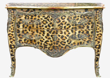 PARIS Commode L. XV Leopard
