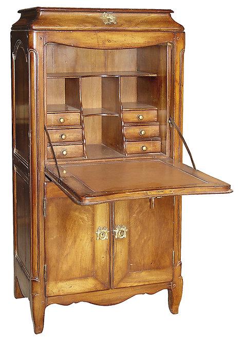PARIS Regency Secretary Desk in Waxed Walnut